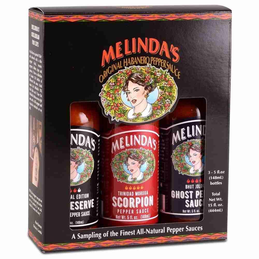 Melinda's Extreme Fiery Collection (Ghost, Scorpion, XXXX Habanero)