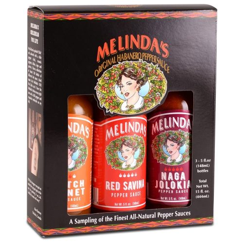 Melinda's Fiery Collection (Naga, Scotch Bonnet, Red Savina)