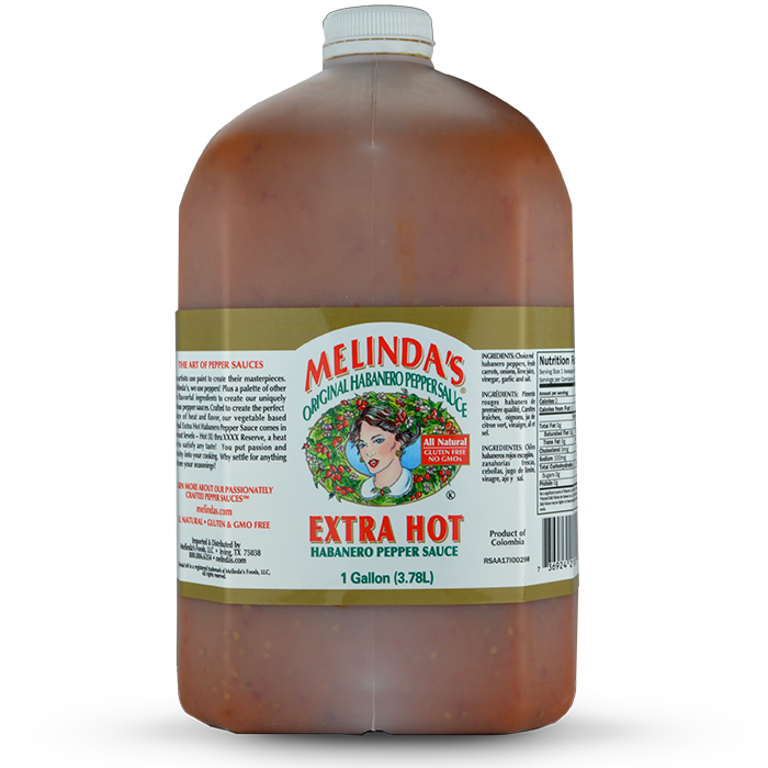 Melinda's Original Habanero Extra Hot Sauce (Gallon)