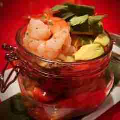 Melinda's Tropical Shrimp Cocktail