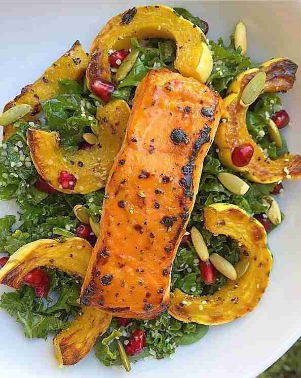 Scotch Bonnet Pepper & Honey Broiled Salmon