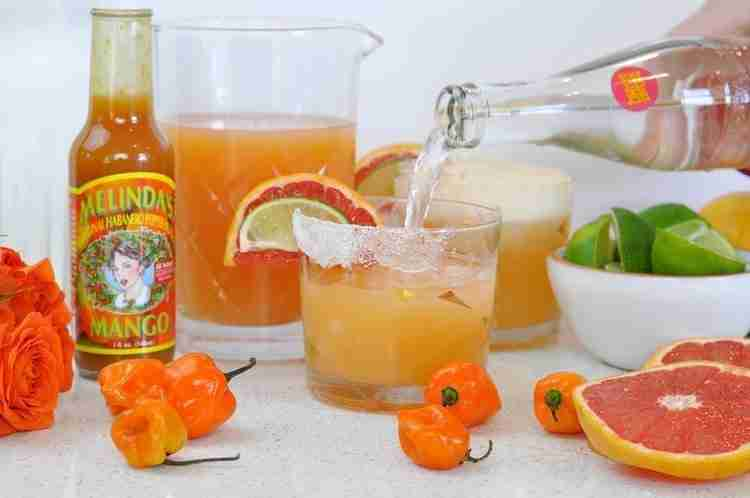 Paloma Cocktail with a Spicy Kick