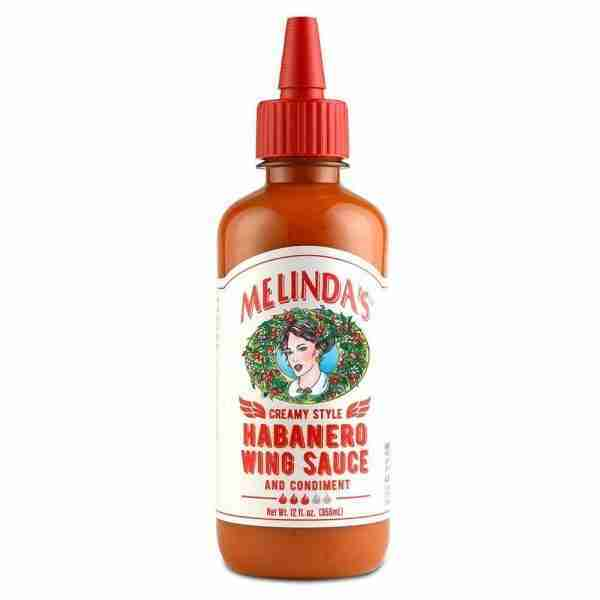 Melinda's Creamy Style Habanero Wing Sauce