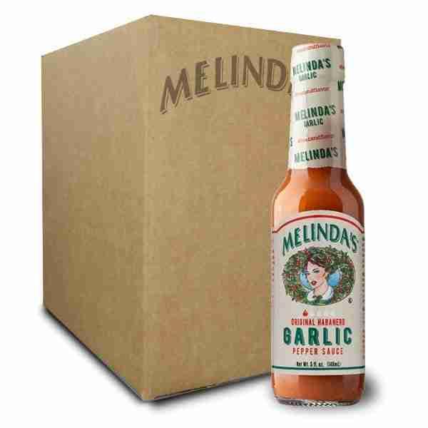 Melinda's Garlic Habanero Hot Sauce (12 pk Case)
