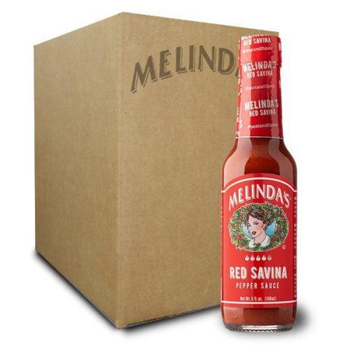 Melinda's Red Savina Pepper Hot Sauce (12 pk Case)