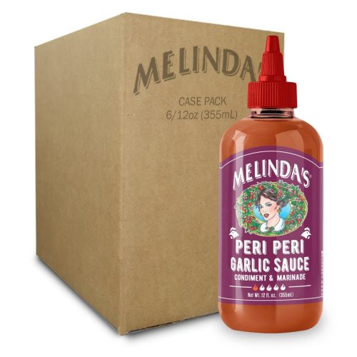 Melinda's Peri Peri Garlic Sauce (6 pk Case)