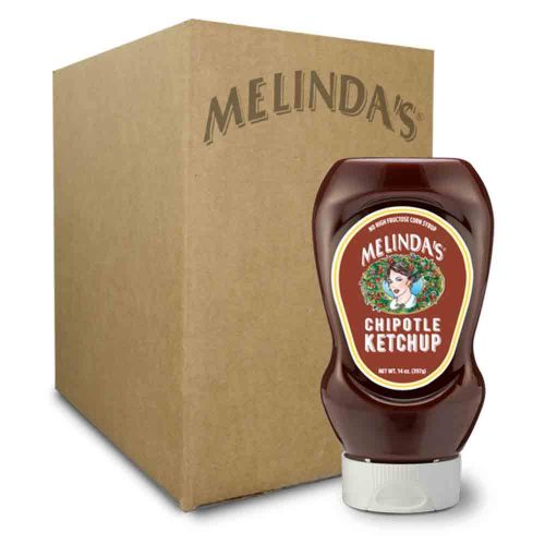 Melinda's Chipotle Ketchup (Squeeze 6 pk Case)