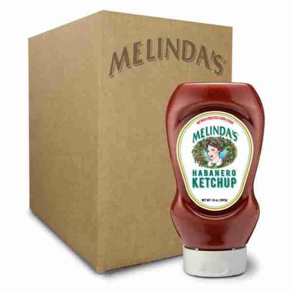 Melinda's Habanero Ketchup (Squeeze 6 pk Case)