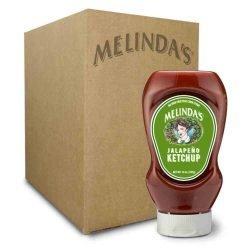 Melinda's Jalapeño Ketchup (Squeeze 6 pk Case)