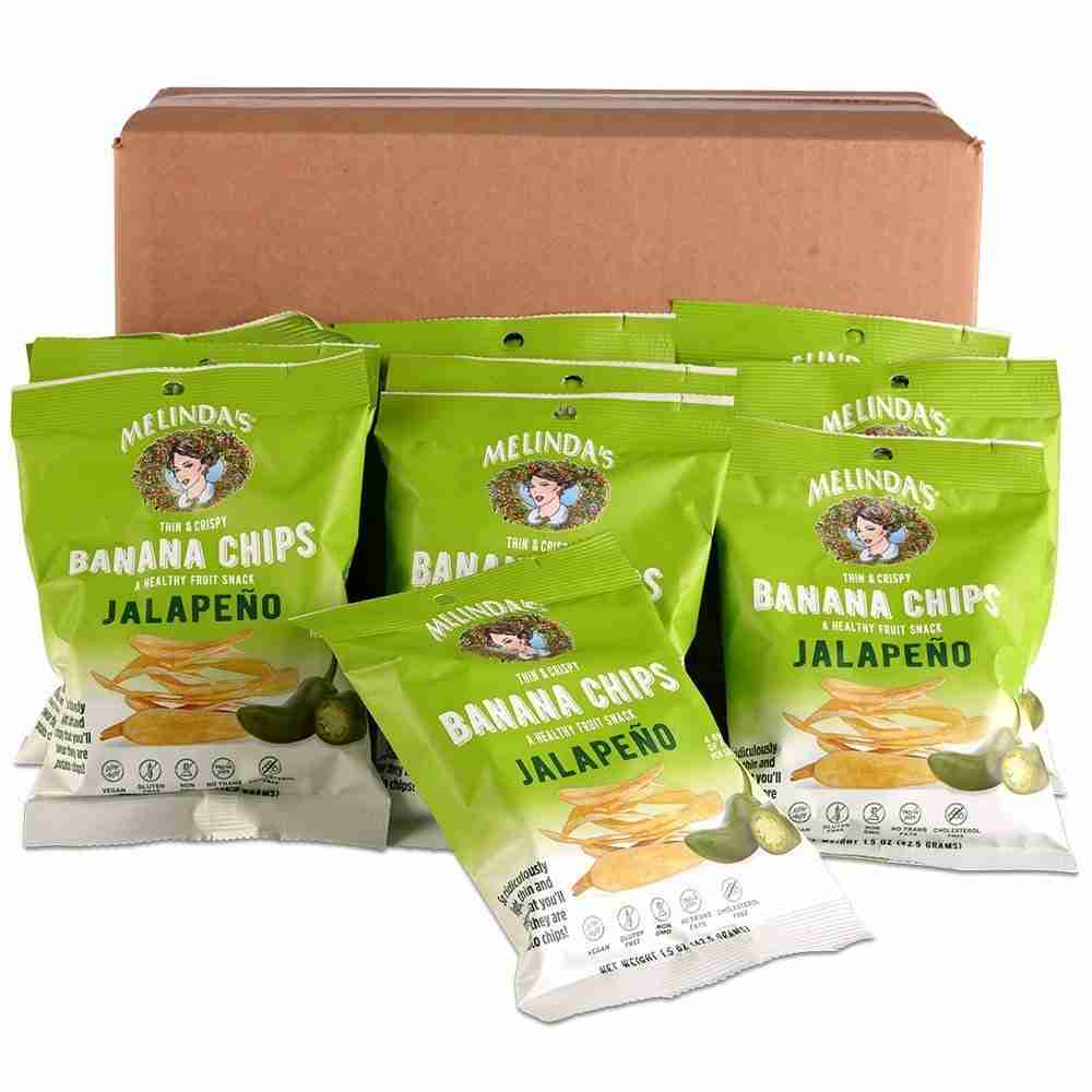 1.5oz Banana Chips 10pack Jalapeno