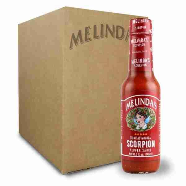 Melinda's Scorpion Pepper Hot Sauce (12 pk Case)