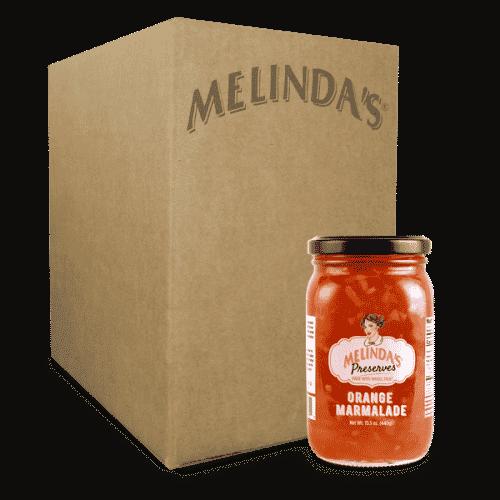 Melinda's Whole Fruit Preserves Orange Marmalade (6pk Case)