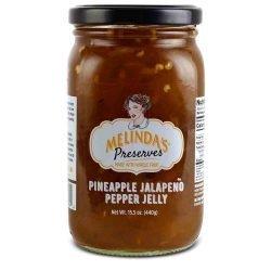 Melinda's Whole Fruit Preserves Pinneapple Jalapeño Pepper Jelly