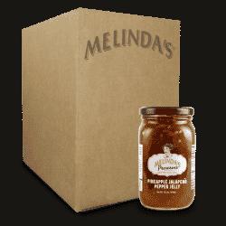 Melinda's Whole Fruit Preserves Pinneapple Jalapeño Pepper Jelly (6 pk Case)