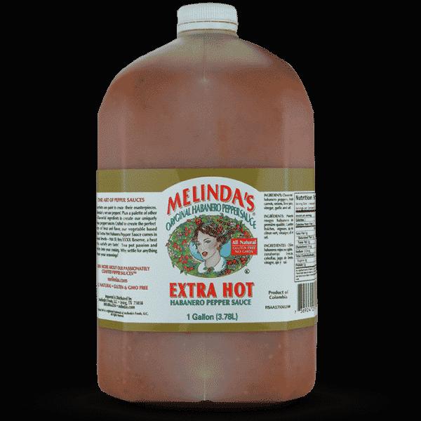 Melinda's Original Habanero Extra Hot Sauce (Gallon)