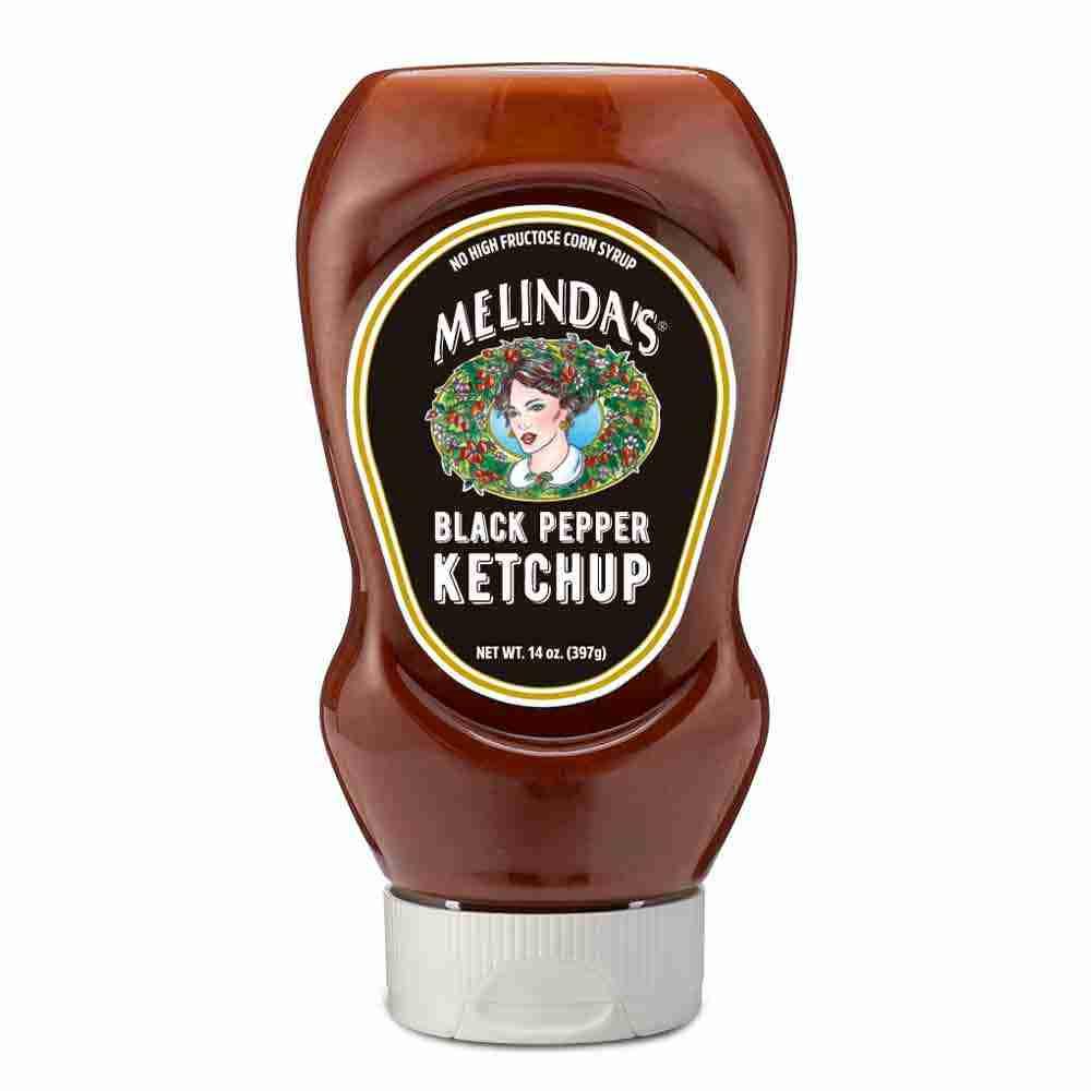 Melinda's Black Pepper Ketchup (Squeeze)