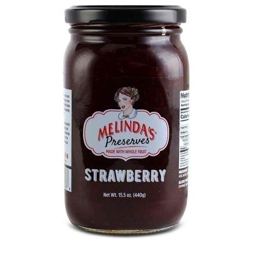 Melinda's Whole Fruit Preserves Strawberry (6pk Case)