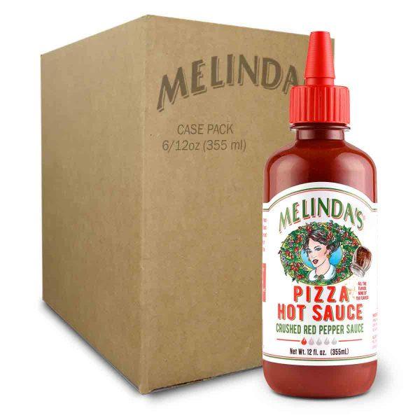 Melinda's Red Pepper Pizza Hot Sauce (Case)