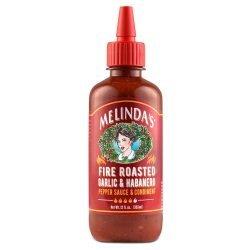 Melinda's Fire Roasted Garlic & Habanero Pepper Sauce & Condiment