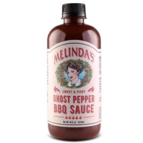 Melinda's Sweet & Fiery Ghost Pepper BBQ Sauce