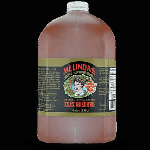 Melinda's Original Habanero XXXXtra Reserve Hot Sauce (Gallon)